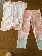 Girls Marika Shirt And Capri Leggings Size 10/12