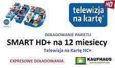 Doladowanie TnK NC+ SMART+ 12M Telewizja na karte Aufladung Polsat TVN POLSAT TV