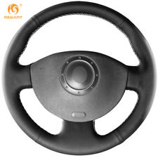 Leather Steering wheel cover for Renault Megane 2 Kangoo 2008 Scenic 2 2003-09