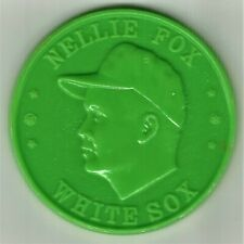 1960 Armour Coin - Nellie Fox - Lime Green - Mint!!
