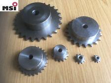 Kettenrad  Kettenräder mit Nabe Ritzel Antriebsritzel versch Größen DIN8187