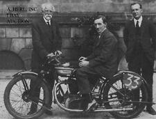 Norton TT winner & Pa Norton & Alec Bennett – 1924 Isle of Man TT motorcycle