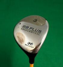 Nickent BB Plus Hypersteel 3 Wood Regular Graphite Shaft Golf Pride Grip