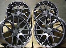 "ALLOY WHEELS X 4 17"" GM MS007 FOR BMW 1 3 SERIES E36 E46 E90 E91 E92 E93 Z4 M12"