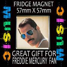 FREDDIE MERCURY- FRIDGE MAGNET57 X 57mm SQUARE  #4