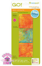 """Accuquilt GO! Fabric Cutter Die Square on Point 2 1/8"""" Finished Quilting 55394"""