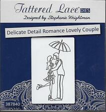 New listing Tattered Lace Cutting Die - Delicate Detail Romance Lovely Couple