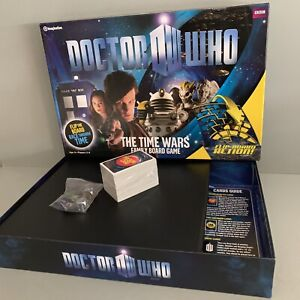 DR WHO THE TIME WARS BOARD GAME  BRAND NEW