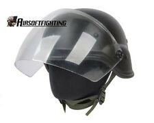 Tactical Airsoft M88 PASGT Kelver Swat Hunting Shooting Helmet with Clear Visor