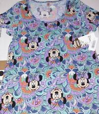 Lularoe Paisley Minnie Mouse Small Classic Tee Disney Collection NEW