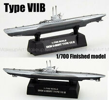 WWII German Type VIIB U7B submarine U-boat 1/700 non diecast Easy model ship