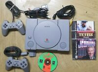 Original Gray PS1 Sony Playstation 1 Console System SCPH-5501 Demo Disc Control