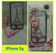 Iphone 5 Fashion Case With Free Strap - EIFFEL TOWER
