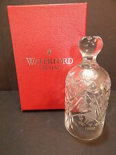 WATERFORD 1992 Crystal Bell : 12 Days of Christmas : 9 Ladies Dancing w/ Box