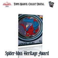 Topps Marvel Collect Digital - Spider-man Heritage blue award