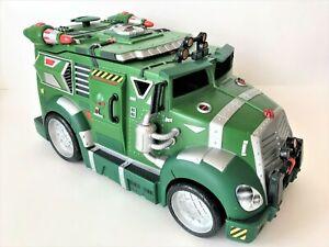 Playmates Teenage Mutant Ninja Turtles Battle Shell Armored Attack Truck 2002