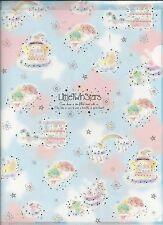 Sanrio Little Twin Stars File Folder Portfolio Side Open 2 Sizes Set
