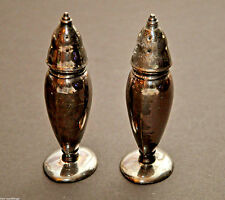 Vintage Silver Plated Salt and Pepper Shakers, Marking: Made in USA SPC  #213