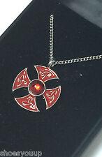 Masonic Knights Templar Consecration Cross Pendant & Chain Jerusalem Talisman