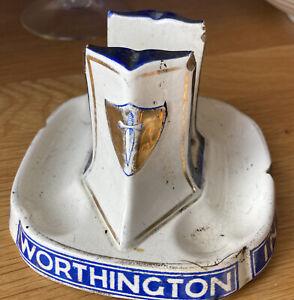 Mintons Antique Worthingtons Matchbox Holder/striker