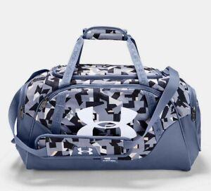 Under Armour UA Undeniable 3.0 Small Duffle Bag 1300214 Unisex Bag, Purple/ Gray