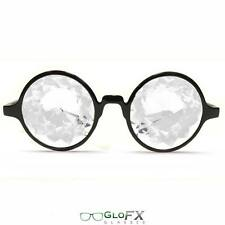 Kaleidoscope Glasses Optics Laser Cut Crytal Prism Glass Lenses MADE IN THE USA