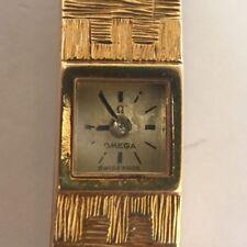 Omega 18k Yellow Gold Omega Petite Backwind Dress Watch