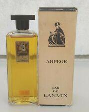 VINTAGE ARPEGE EAU DE LANVIN 4 oz 120 ml SPLASH PARFUM OLD FORMULA