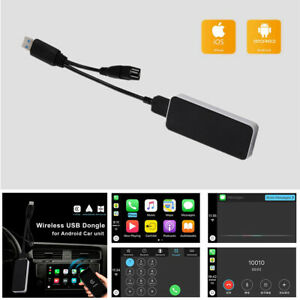 Wireless Smart Link Apple Wireless CarPlay Dongle for Android Navigation Player