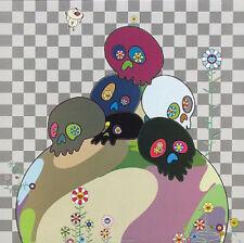 Takashi Murakami Skulls Rock Lithograph print Edition 300 signed unframed