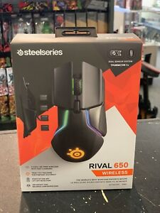 SteelSeries Rival 650 Wireless Optical Gaming Mouse with RGB Lighting