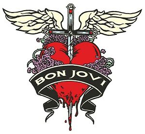 Bon Jovi Iron On Transfer For T-Shirt + Other Light & Dark Color Fabrics #3