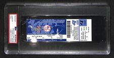 2004 ALCS AL CHAMPIONSHIP SERIES FULL TICKET 7 RED SOX BEAT YANKEES COMEBACK PSA
