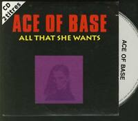 ACE OF BASE All That She Wants 2 TRACK CARDslv CD SINGLE