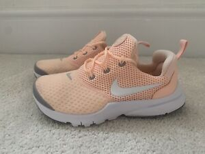 Girls Nike Peached Coloured Trainers Size 1.5