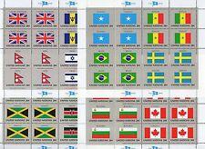 NATIONS UNIES NEW YORK: SERIE COMPLETE DE 4 FEUILLES NEUF** YTN°390/405 C:58,00€