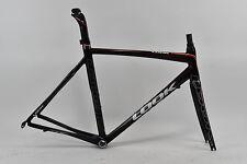Look 586 RSP Carbon Frameset, Black/Red, Medium