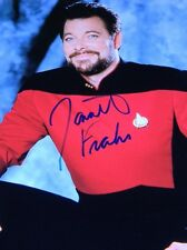 Jonathan Frakes Commander William T. Riker Autograph Photo Star Trek w/COA