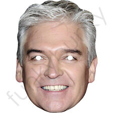 Phillip Schofield Celebrity Card Face Mask Philip - All Our Masks Are Pre-Cut***