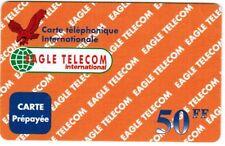 TELECARTE 50 F EAGLE TELECOM INTERNATIONAL