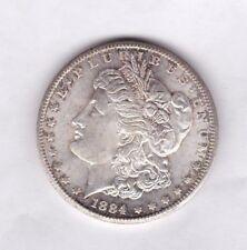 EE. UU. 1884 CC dólar Morgan de Carson City Plata en cerca de nuevo, sin usar