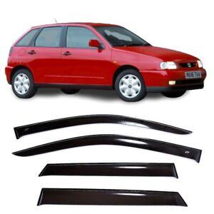 For Seat Ibiza Hb 5d 1993-2002 Side Window Visors Sun Rain Guard Vent Deflectors