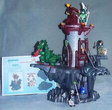 Playmobil 4836 Dragon's Dungeon With Firing Crossbow, Arrows + Glowing Stone VGC