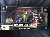 2013 Star Wars Star Tours Sector 2 Security Droids Disney Park Exclusive