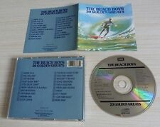 CD ALBUM BEST OF 20 GOLDEN GREATS THE BEACH BOYS 20 TITRES 1987