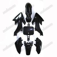 Black Plastic Fairing Body Kit For CRF50 XR50 50cc 70cc 90cc-160cc Dirt Pit Bike