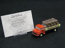 "Schuco Piccolo Mercedes-Benz L322 ""Stuttgarter Hofbräu"" in special box (JS)"