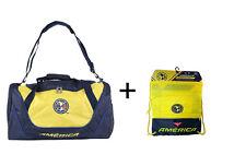 Club America Set Soccer Core Structured Duffel Bag  Backpack  Cinch Bag Sack