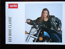 Prospekt APRILIA RED ROSE CLASSIC Copper 50  Mokick Brochure Prospetto