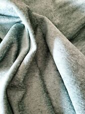 New listing Robins Egg Blue Soft Woven Chenille 2.5 yard Remnant Upholstery Fabric